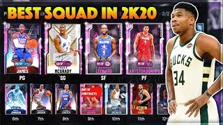 I MADE THE BEST TEAM IN NBA 2K20 MyTEAM!!