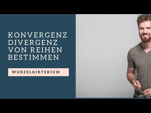 Wurzelkriterium   Konvergenz/Divergenz von Reihen bestimmen from YouTube · Duration:  8 minutes 10 seconds