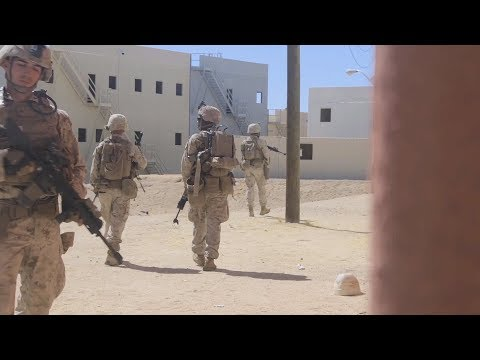Marines Conduct Squad Patrols - ITX 1-20