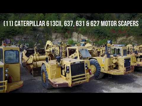 Major Highway and Mining Contractor | Myron Bowling Auctioneers