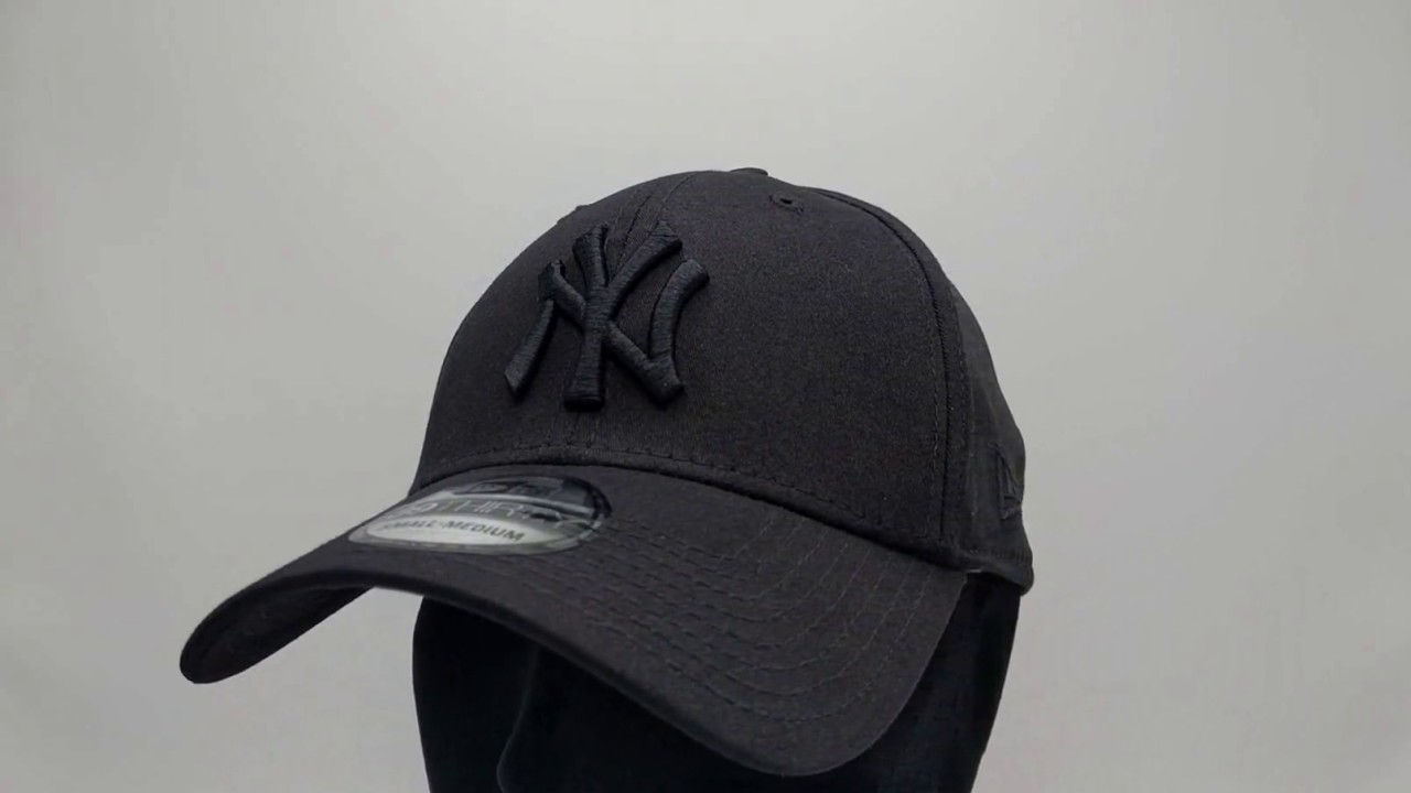 New Era 39Thirty Curved cap (3930) NY New York Yankees - black black -  €29 494722fd64b
