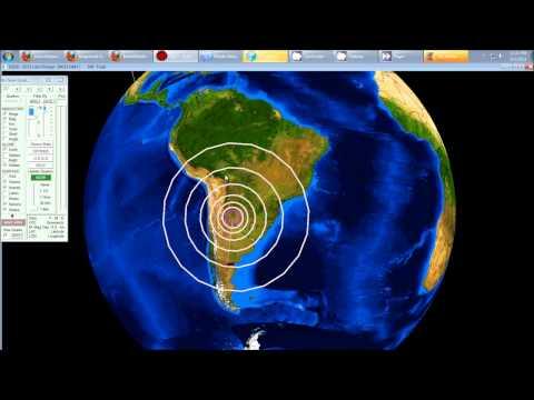9/02/2011 -- Forecast Confirmation =6.7 magnitude quake in Santiago Argentina