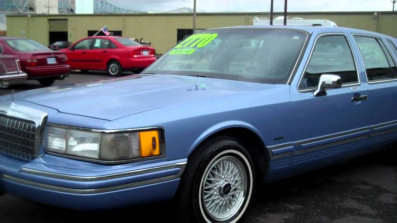 1994 Lincoln Town Car Sold