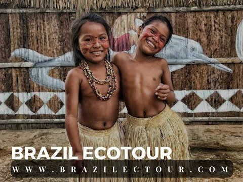 AMAZON TOURS IN BRAZIL 2018 - VISITING AN INDIGENOUS TRIBE