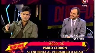 VERDADERO O FALSO - PABLO CEDRON - 24-07-15
