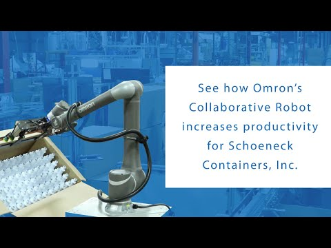 OMRON TM Collaborative robots working alongside employees to boost the capabilities of manufacturing