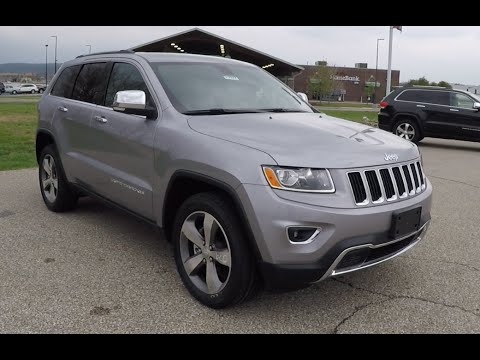 new 2015 jeep grand cherokee limited 4x4 silver martinsville in 17877 youtube. Black Bedroom Furniture Sets. Home Design Ideas