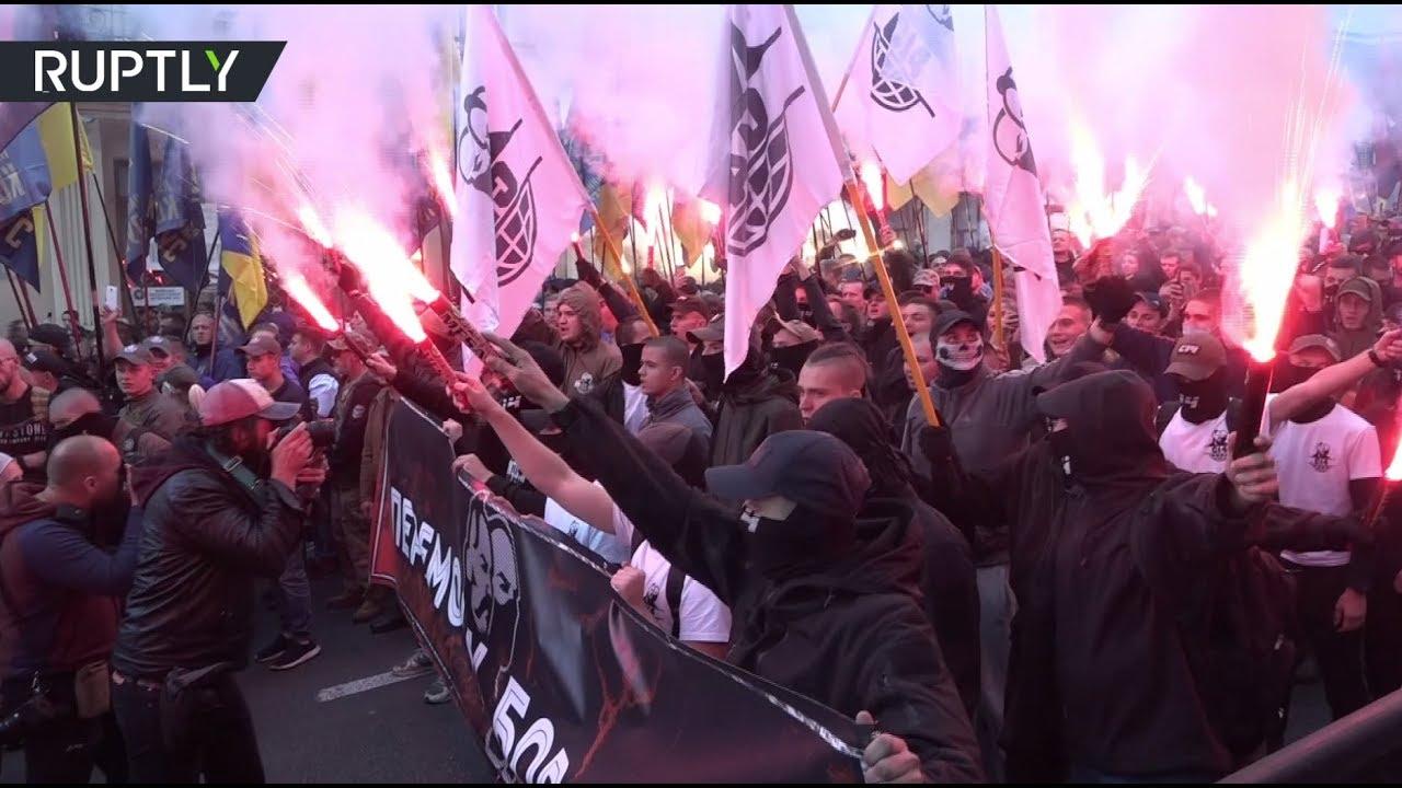 В Киеве прошёл многотысячный марш националистов
