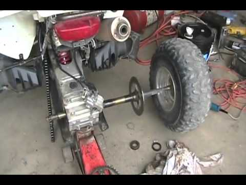 1414 How to change bearings and brakes on suzuki z400 atv ...