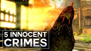 Skyrim - 5 Innocent Crimes