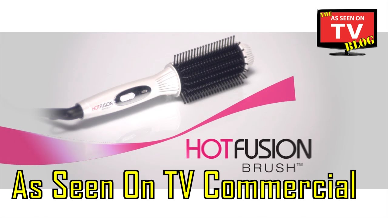 Hot Fusion Brush As Seen On Tv Commercial Air You