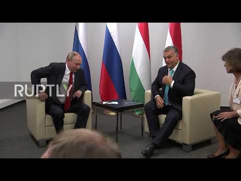 Hungary: Putin and Orban joke about judo following World Championship opening ceremony