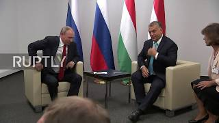 Hungary: Putin and Orban joke about judo following World Championship opening ceremony