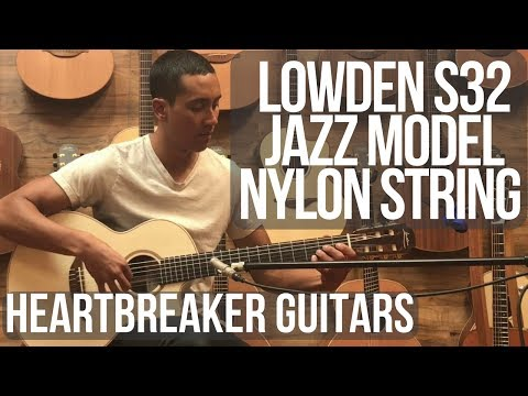 Lowden S32 Jazz Model Nylon String