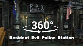 VR 360 - Resident Evil 2 Police Station ( Biohazard 2 / 生化危機2) - 【 Not2Control VFX 】 !!!
