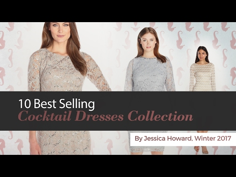 10 Best Selling Cocktail Dresses Collection By Jessica Howard, Winter 2017