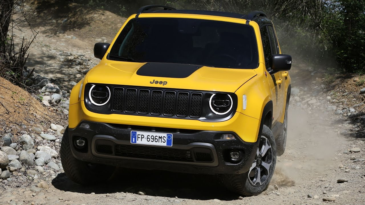 2019 Jeep Renegade Trailhawk Youtube