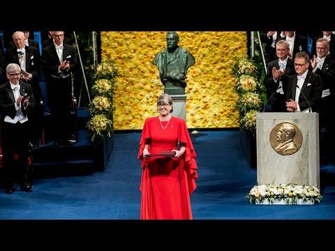 Lucy - Nobel Prize Award Ceremony - 12/10/2018