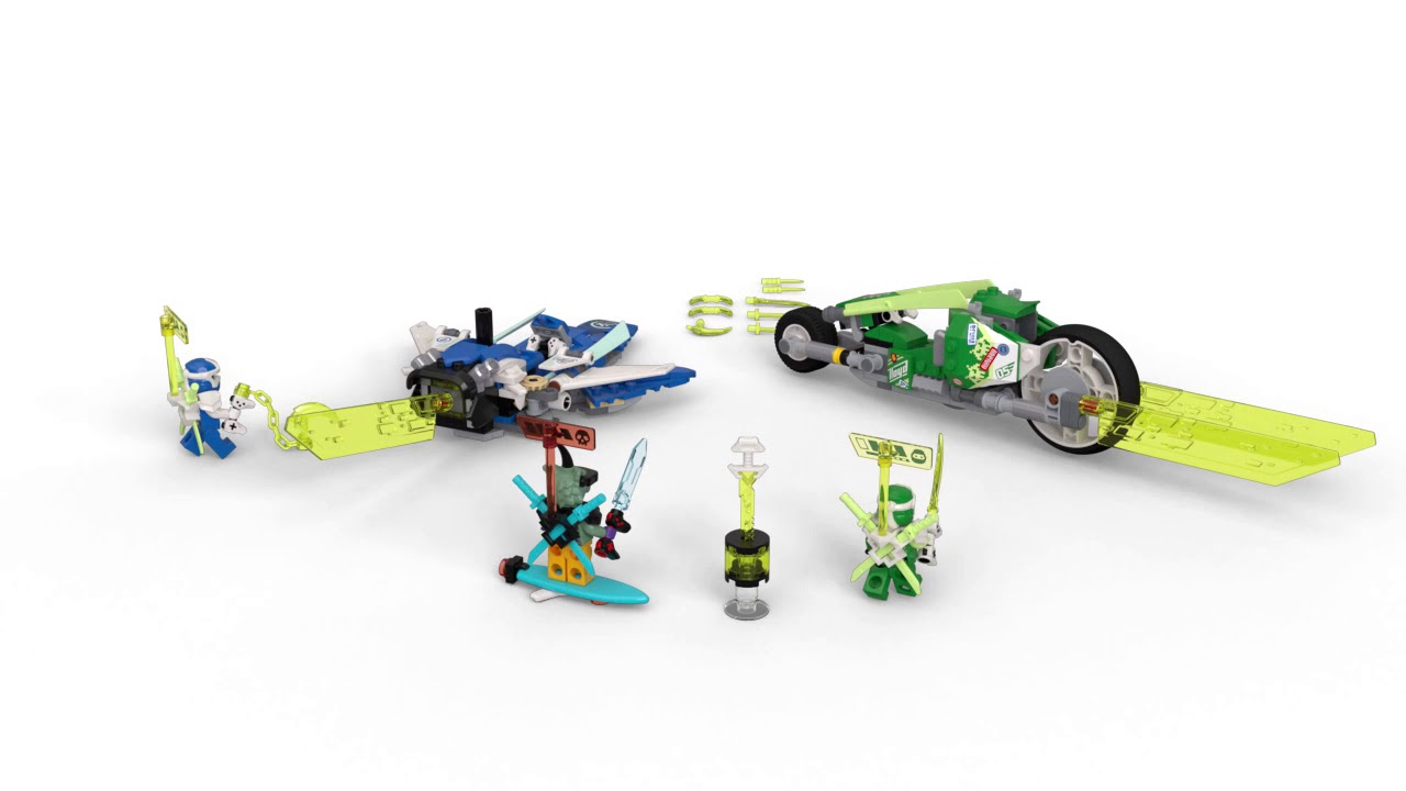 Download LEGO NINJAGO 71709 - LES BOLIDES DE JAY ET LLOYD - Disponible chez JouéClub !