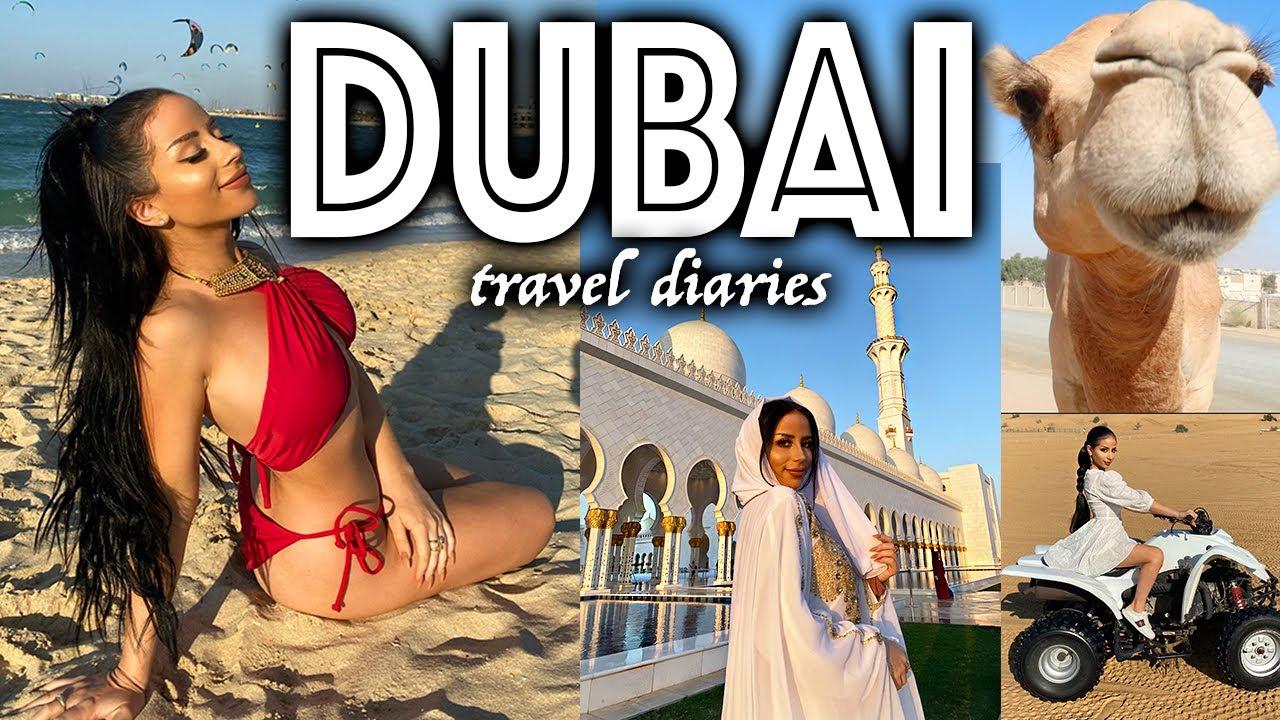 A VERY #EXTRA DUBAI TRAVEL VLOG!