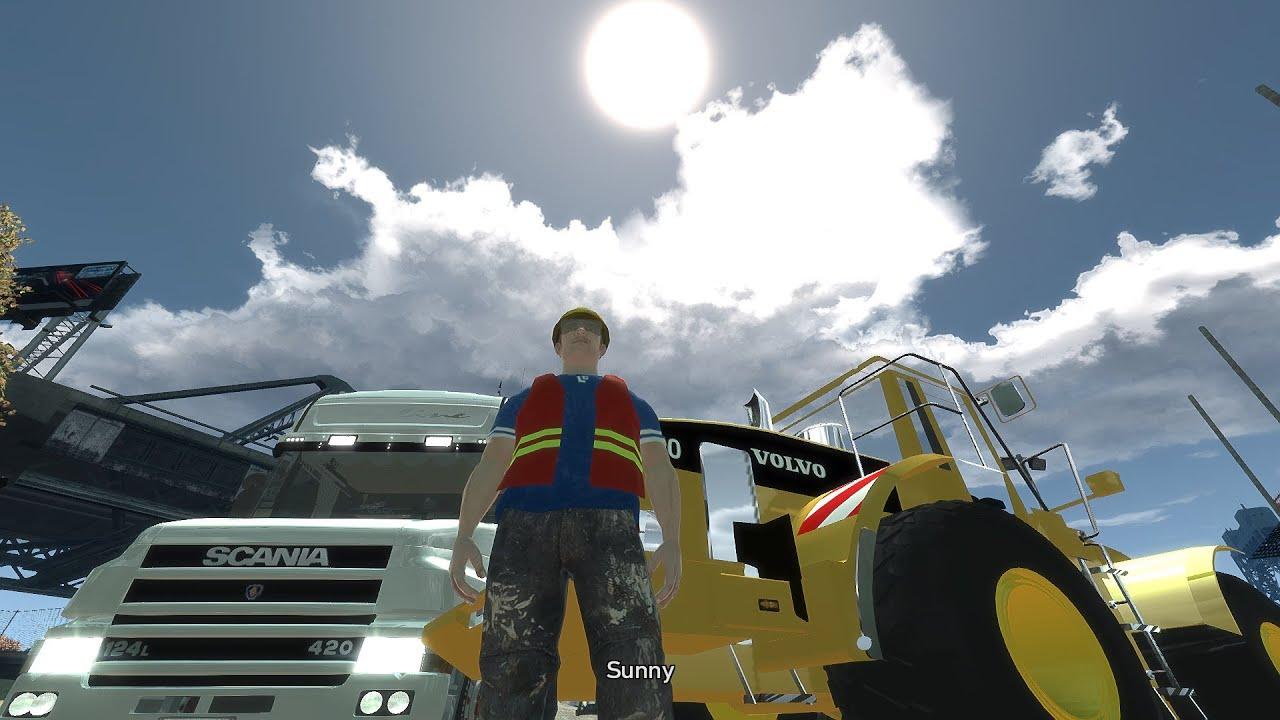 GTA 4 Scania Truck Mod + GTA SA Truck Sound + ENB Series ...