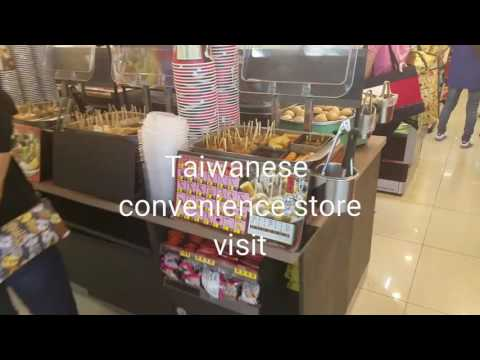 Taiwanese convenience store visit