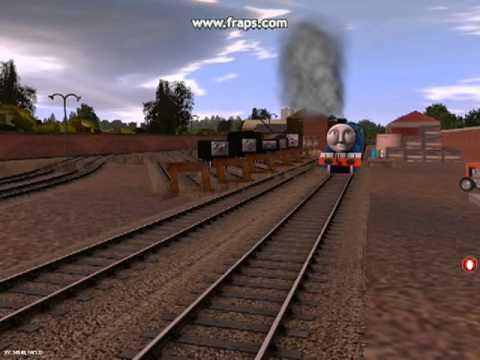 Demonstration of SI3D's IOS Route part 1-Yards Behind Knapford Station