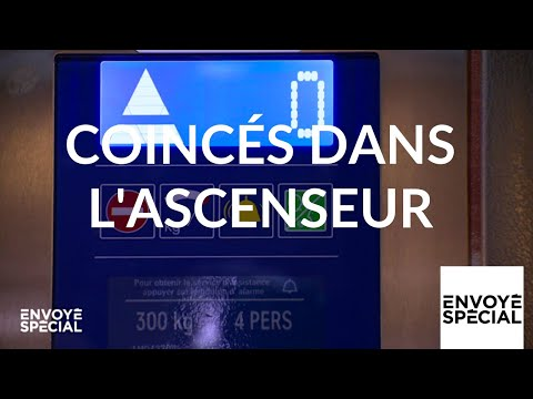 Envoyé spécial. Coincés dans l'ascenseur - 9 mai 2019 (France 2)
