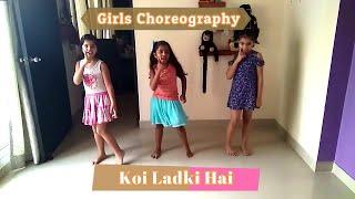 Koi ladki hai (dil to pagal hai) dance steps