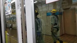 名古屋市営地下鉄鶴舞線 日立製N3000形電車 行駛上前津→丸の內駅(上小田井行)