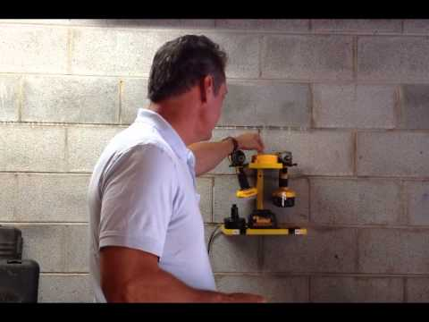 Cordless Drill Storage System - YouTube