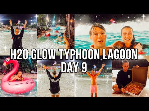 FLORIDA DAY 9: TYPHOON LAGOON H2O GLOW NIGHT! AD-Gifted