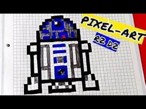 Pixel Art Dessiner Un R2d2 Youtube