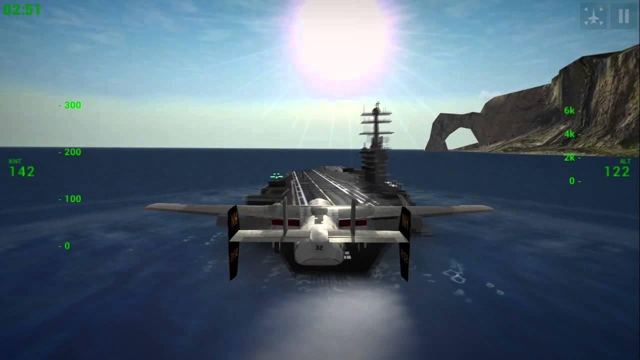 f18 carrier landing 破解