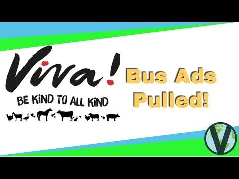 Viva! Vegan Bus Ads Pulled! (2018)