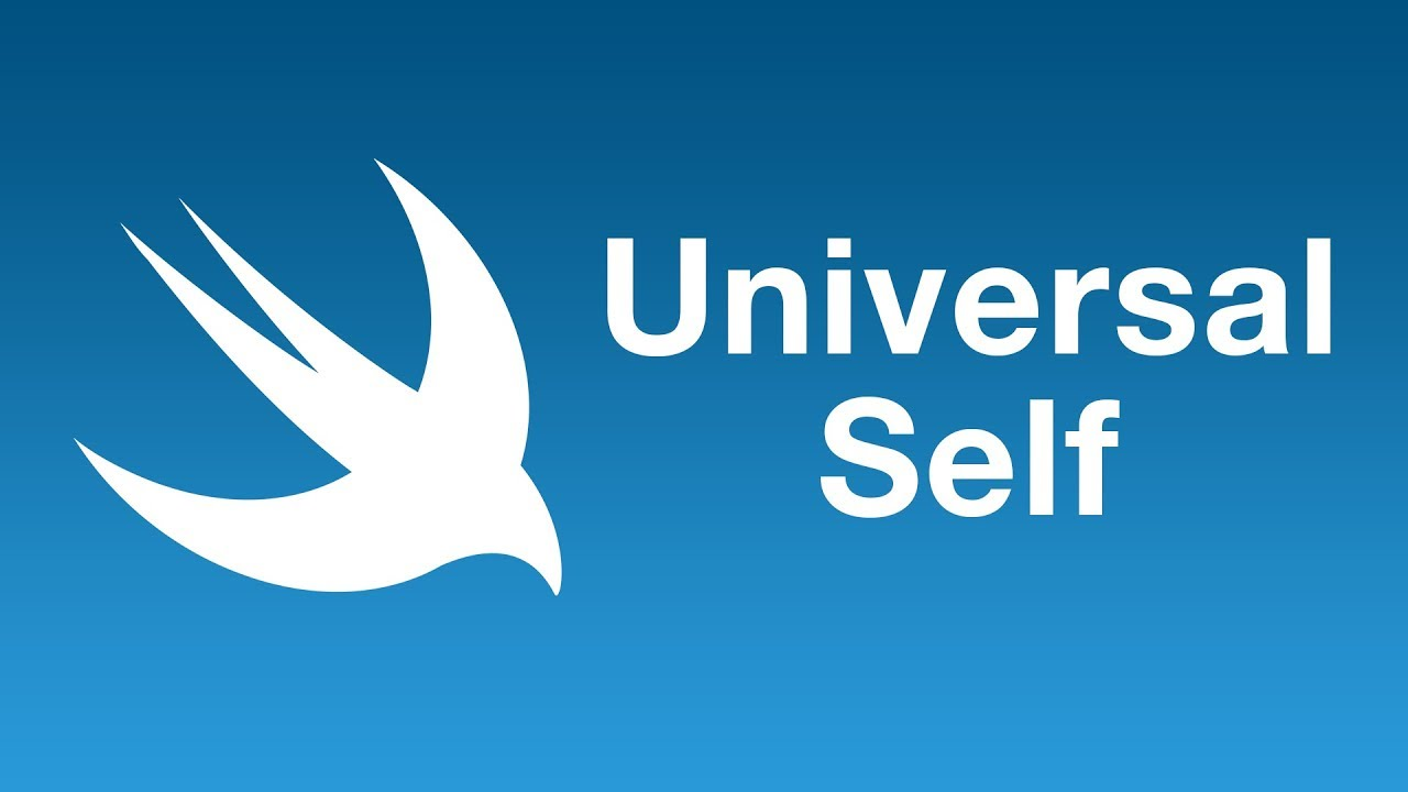 Universal Self in Swift 5.1