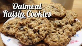 Oatmeal Raisin Cookies  Oatmeal Raisin Cookie Recipe