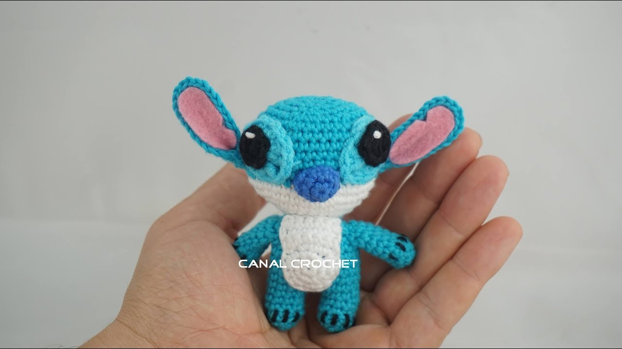 Amigurumi Stitch Tutorial : Stitch amigurumi tutorial youtube