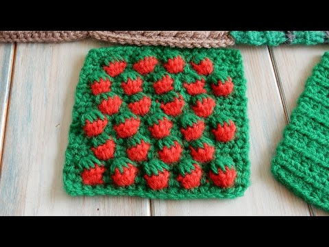Strawberry Stitch - How to Crochet