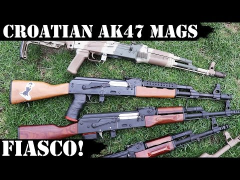 Croatian, AK 47 Magazines Fiasco