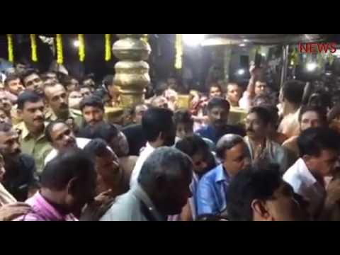 This time, Sabarimala Ayyappa goes to sleep listening to Yesudas sing