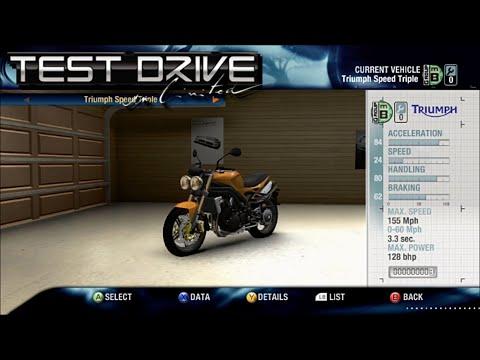 TDU1 - Triumph Speed Triple REVIEW