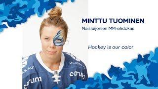 Naisten MM-ehdokkaat esittäytyvät - Puolustaja Minttu Tuominen