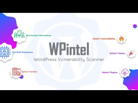 WPintel - WordPress Vulnerability Scanner