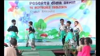 Dance Anak PAUD TK untuk Video Pembelajaran