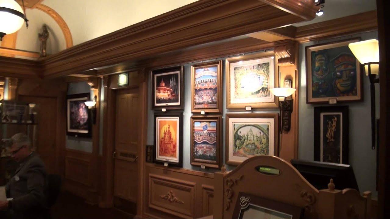 Disneyland Disney Mechanical Kingdoms Exhibit