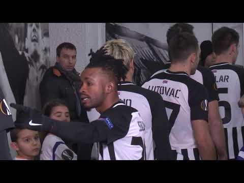 Iza Kulisa FK Partizan - FK Astana