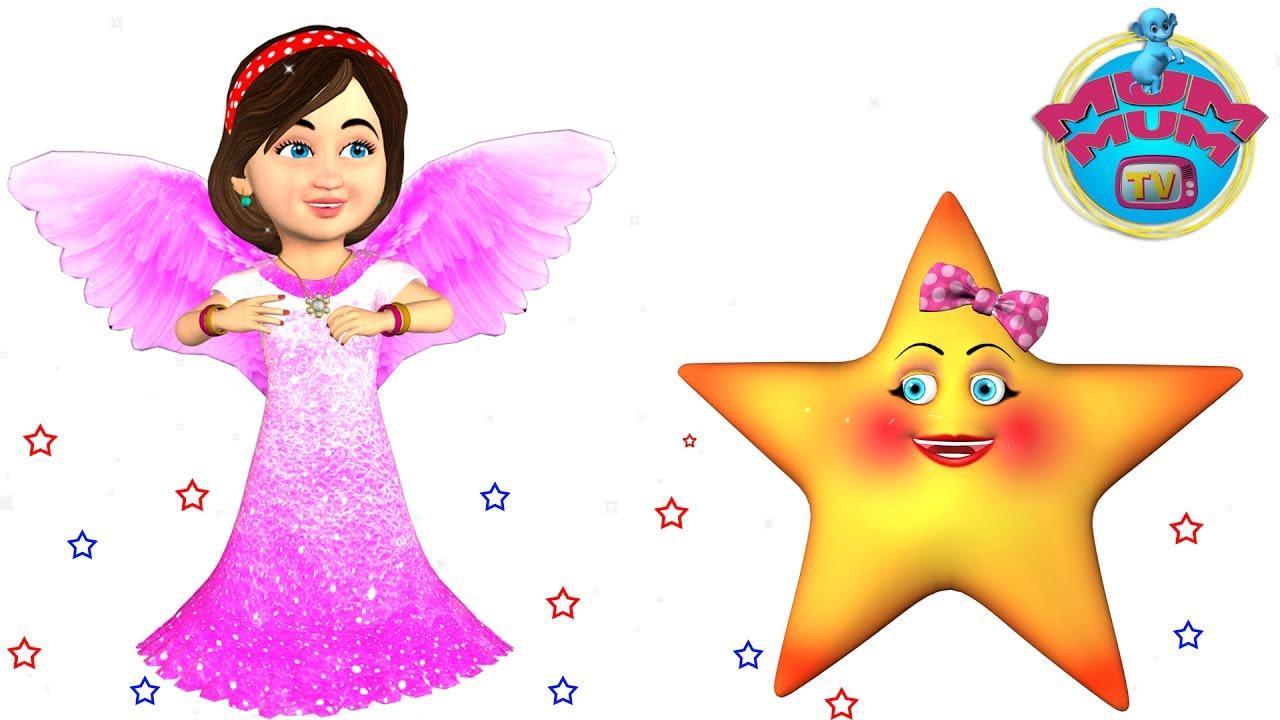 Twinkle Twinkle Little Star Song Lyrics,Youtube Kids Songs Video,Kids  Nursery Songs | Mum Mum TV