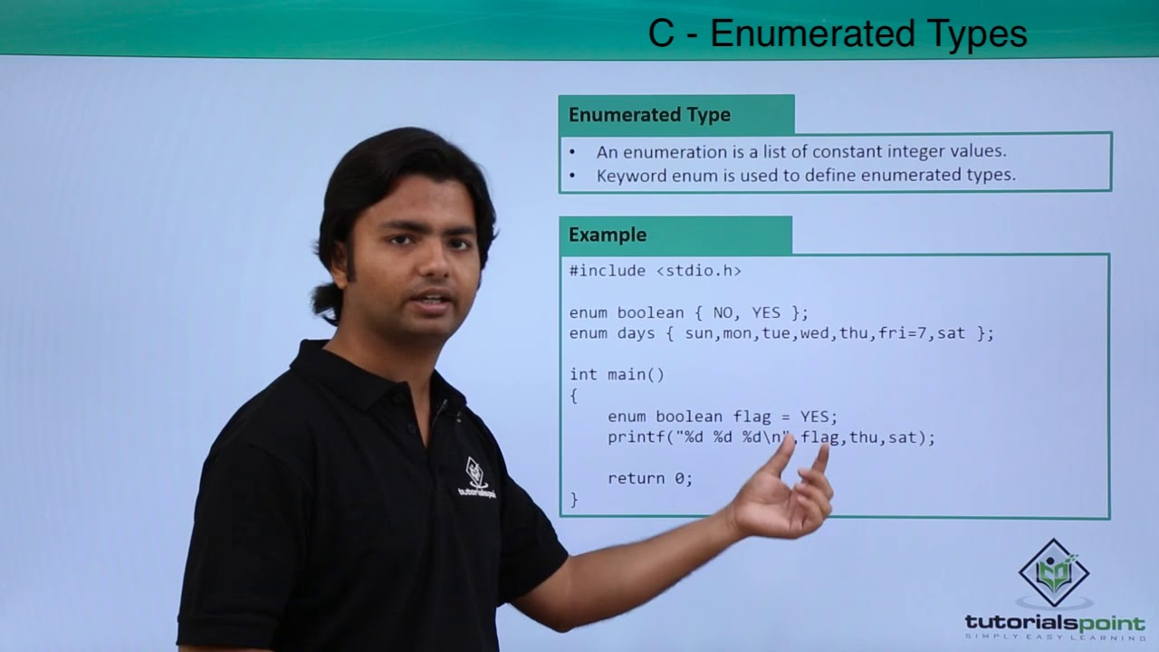 C enumerated types youtube baditri Choice Image