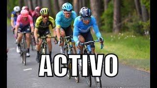 Nairo Quintana, activo en la etapa 2 del Critérium du Dauphiné